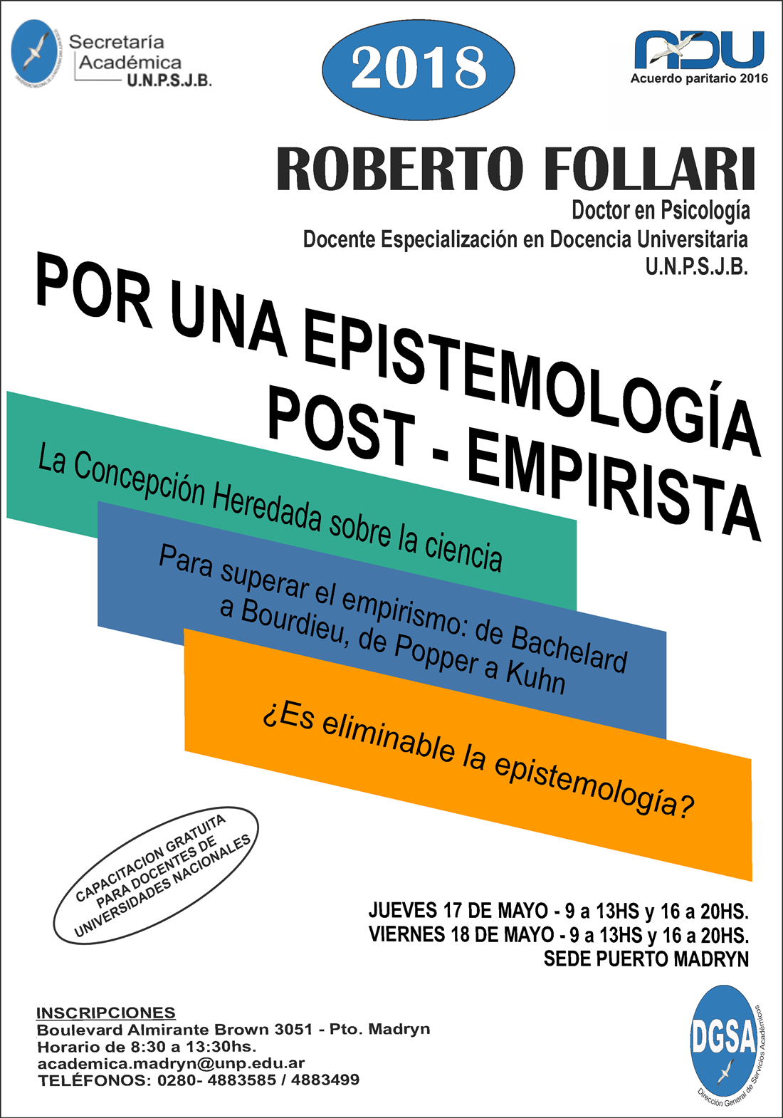 Por una epistemologia post-empirista