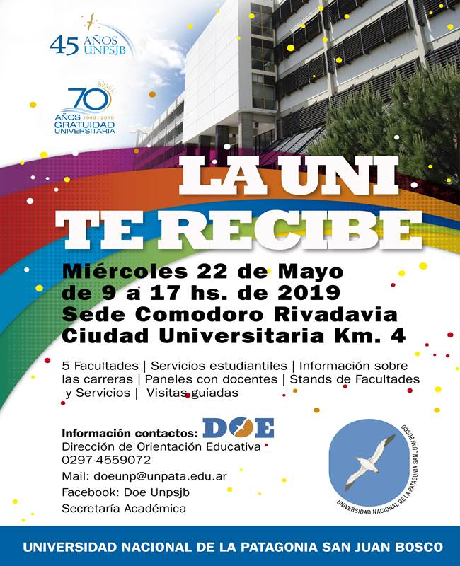 La Universidad te recibe  2019