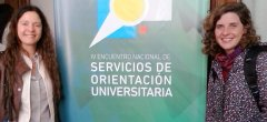 Equipo de la Dirección de Orientación Educativa participó del IV Encuentro Nacional de Servicios de Orientación Universitaria