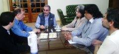El Rector de la UNPSJB, recibió al Intendente de Comodoro Rivadavia