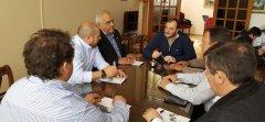 El Rector de la UNPSJB firmó un convenio de colaboración con trabajadores del rubro transportista