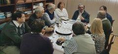 Autoridades universitarias recibieron al Ministro de Hidrocarburos y comitiva