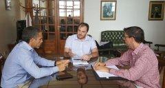 De Marziani, se reunió con representantes de IRAM Patagonia