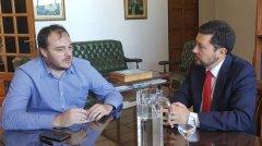 El Rector de la UNPSJB, recibió al Cónsul de Chile en Comodoro Rivadavia