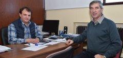 El Secretario de Extensión UNPSJB recibió al Presidente del Colegio de Corredores Inmobiliarios