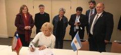 Con la firma de la Vicerrectora Dra Mónica Freile, la UNPSJB es una de las siete Universidades de la Patagonia argentino-chilena que trabajarán en colaboración