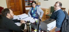 El Rector de la UNPSJB, recibió al Intendente de Río Mayo