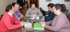 El Rector de la UNPSJB, recibió al Intendente de Río Senguer. Planifican acciones conjuntas
