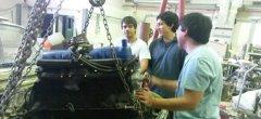 Por iniciativa propia estudiantes de Ingeniería renovaron un vehículo en desuso