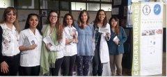 El Dto de Farmacia participó de la jornada de prevención del HIV-SIDA