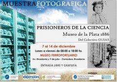 Muestra Fotográfica: Prisioneros de la Ciencia