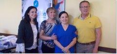 Taller de costura de la UNPSJB entregó donación al Materno Infantil de Trelew