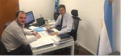 Se reunieron el rector de la UNPSJB y el diputado nacional Gustavo Mena