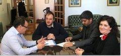 La UNPSJB y el CACH, suscribieron convenio para actividades conjuntas