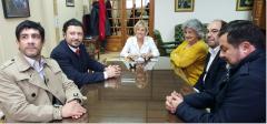 Vicerrectora de la UNPSJB,  Mónica Freile se reunió con el Cónsul de Chile, Rectora de UAysen, y autoridades de UMag