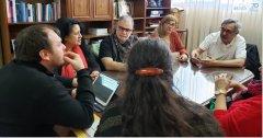 El Rector de la UNPSJB, se reunió con referentes de CONADUH y ADU