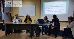 Taller para docentes en la UNPSJB, sede Trelew
