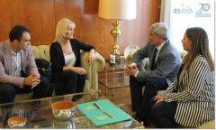 Convenio entre la UNPSJB y la Universidad de León propicia el intercambio de estudiantes