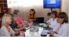 Autoridades de la UNPSJB, se reunieron con representante de la Universidad de Zagreb