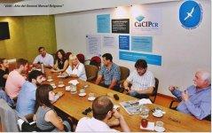 La UNPSJB, participó de la reunión organizada por el Ministerio de Producción de la Provincia para la coordinacion de actividades insitucionales.