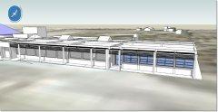 Obras Ampliación Ampliación Edificio de Aulas Puerto Madryn