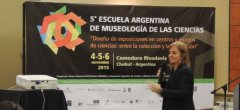 5ª Escuela Argentina de Museología de las Ciencias.