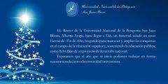 Salutación del Sr. Rector Alberto Ayape