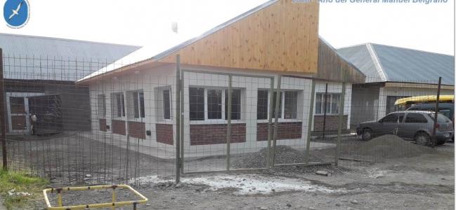 Nueva aula en la sede Esquel