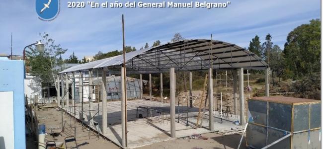 El Rector informa la adjudicación de la 2da etapa de la Obra Ampliación 222m2 Sede Puerto Madryn.